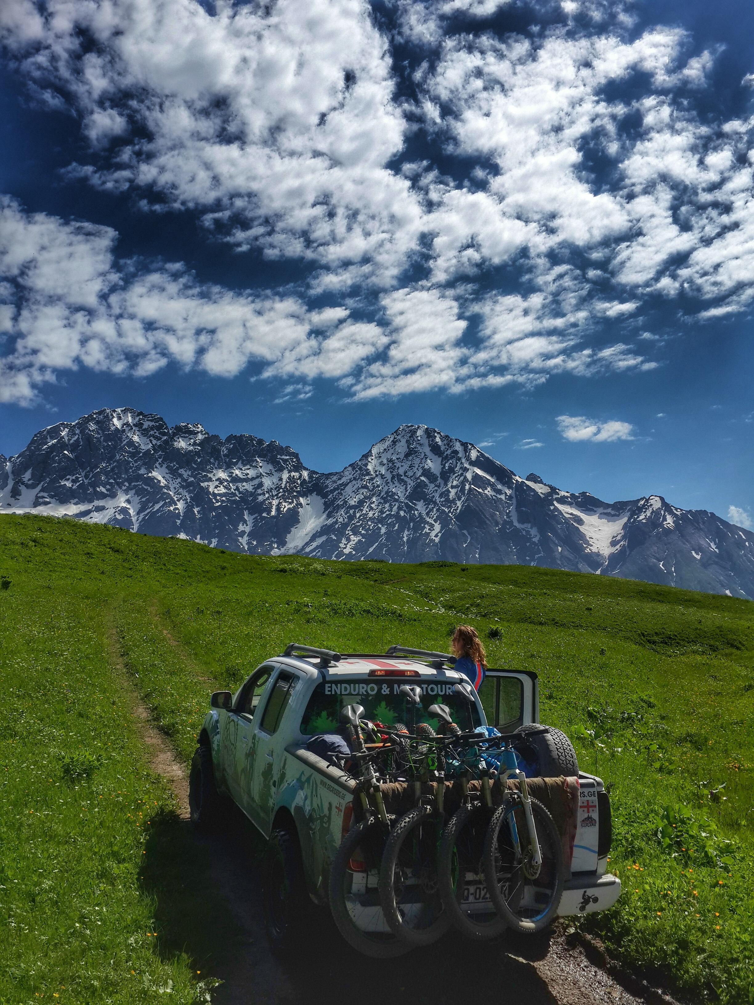 Georgia Svaneti mountain biking