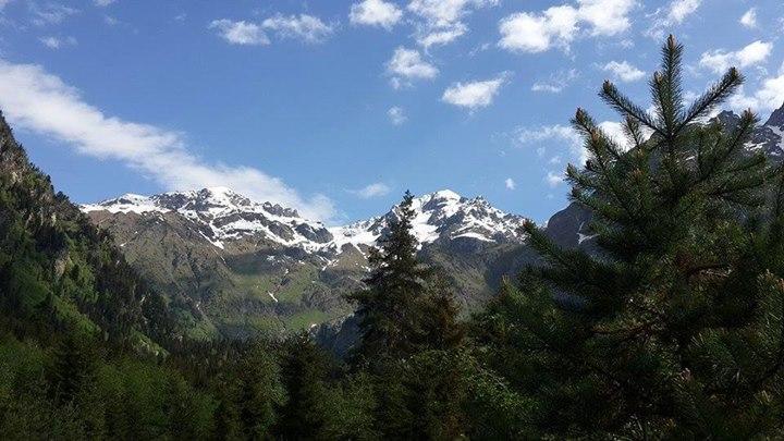 Downhill in Svaneti