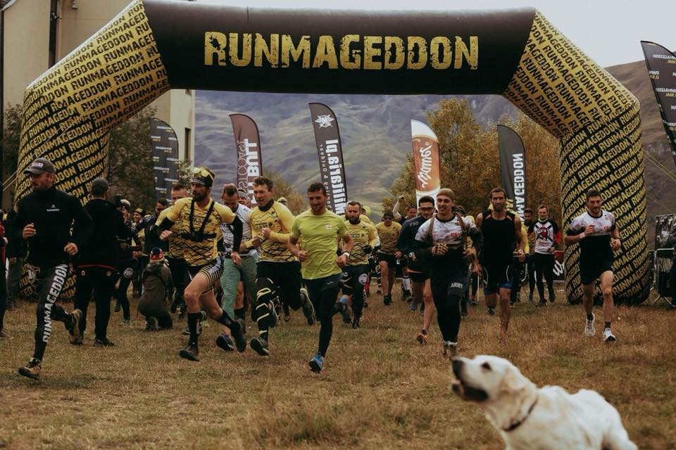 Trail running tour Kazbegi