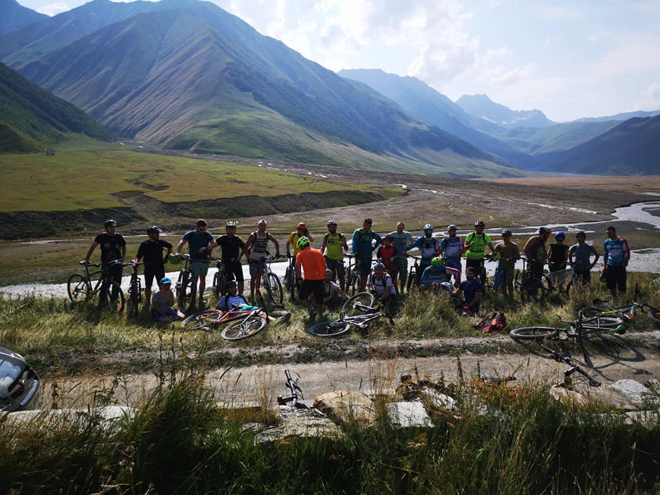 bike tour in Georgia Kazbegi (2)