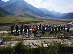 bike tour in Georgia Kazbegi (2)