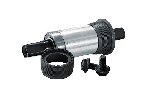 Cartridge Bottom Bracket set with screws - 117,5mm - პედლების კბილანის ბუდე