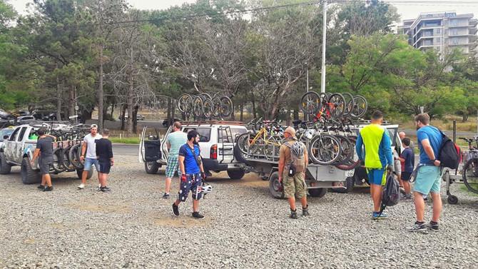 Mountain bike and E-bike tour in Georgia