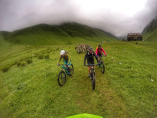 Georiders-mountain bike tours in the republic of Georgia Tbilisi-Kazbegi-Tusheti-Svaneti
