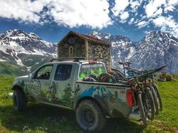 Mountain biking in Svaneti