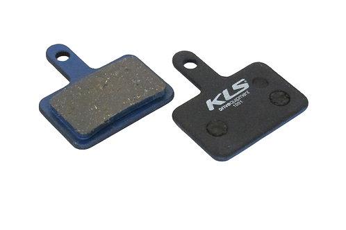 ველოსიპედის ხუნდები - Brake Pads KLS D-04, organic