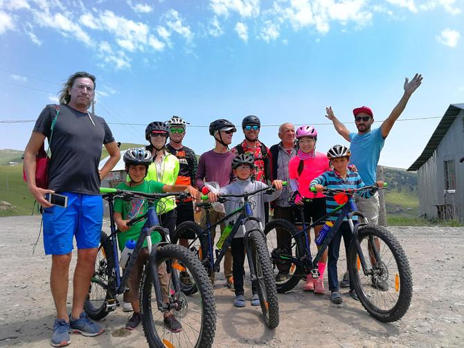 ველო ტური დასავლეთ საქართველოში 2020 - Mountain bike tour in West Georgia 2020