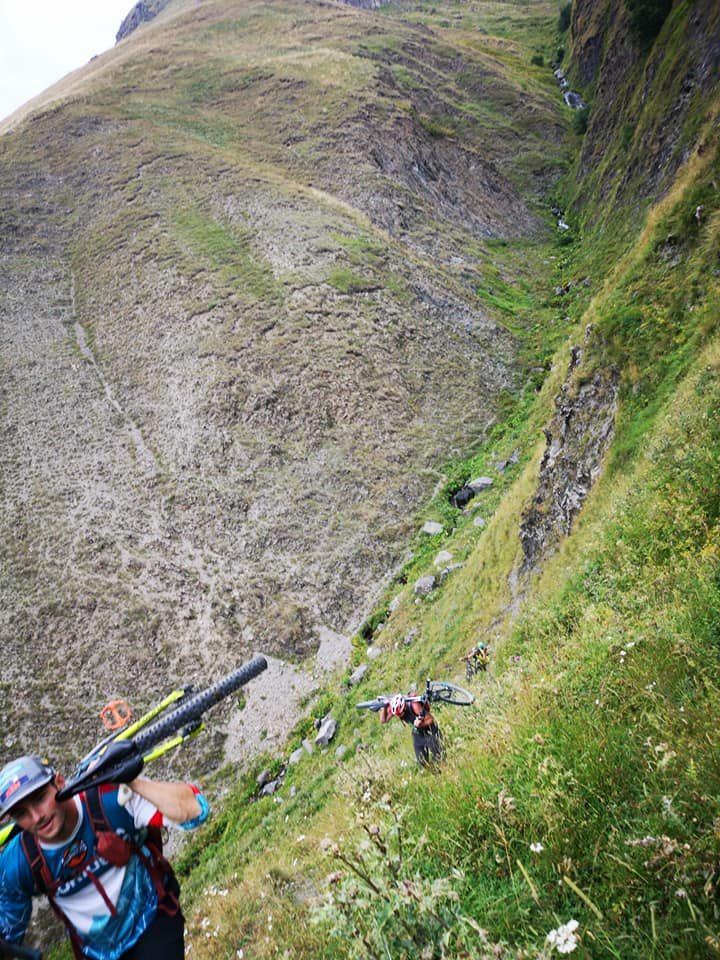Mountain bike Kazbegi