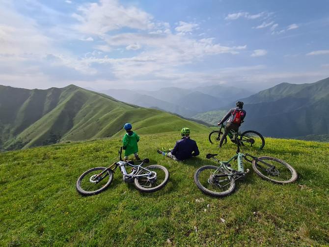 ელექტრო ველო ტური თიანეთიდან - ფშავში 2020 / E-bike tour from Tianeti to Pshavi 2020