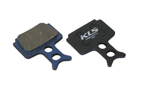 ველოსიპედის ხუნდები - Brake Pads KLS D-10, organic
