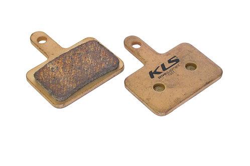 ველოსიპედის ხუნდები - Brake Pads KLS D-04S , sintered