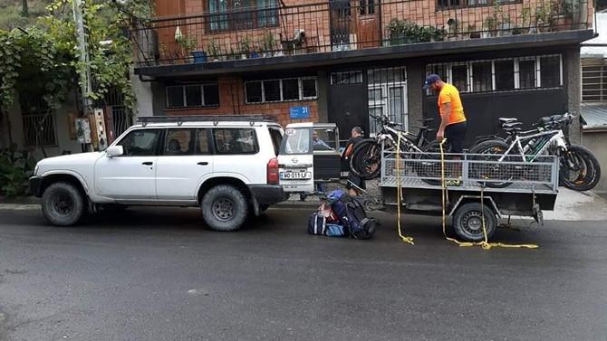 Mountain bike tour in Tbilisi