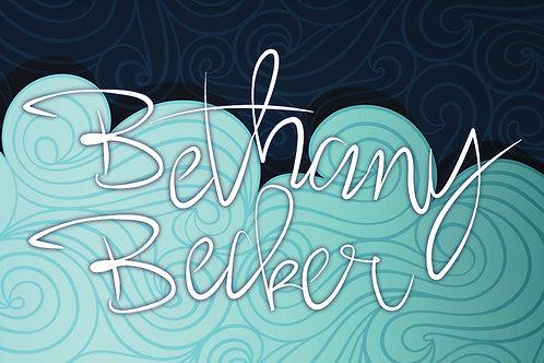 Bethany Becker Sticker