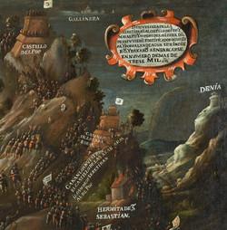Detall Cartela i Ermita cremada