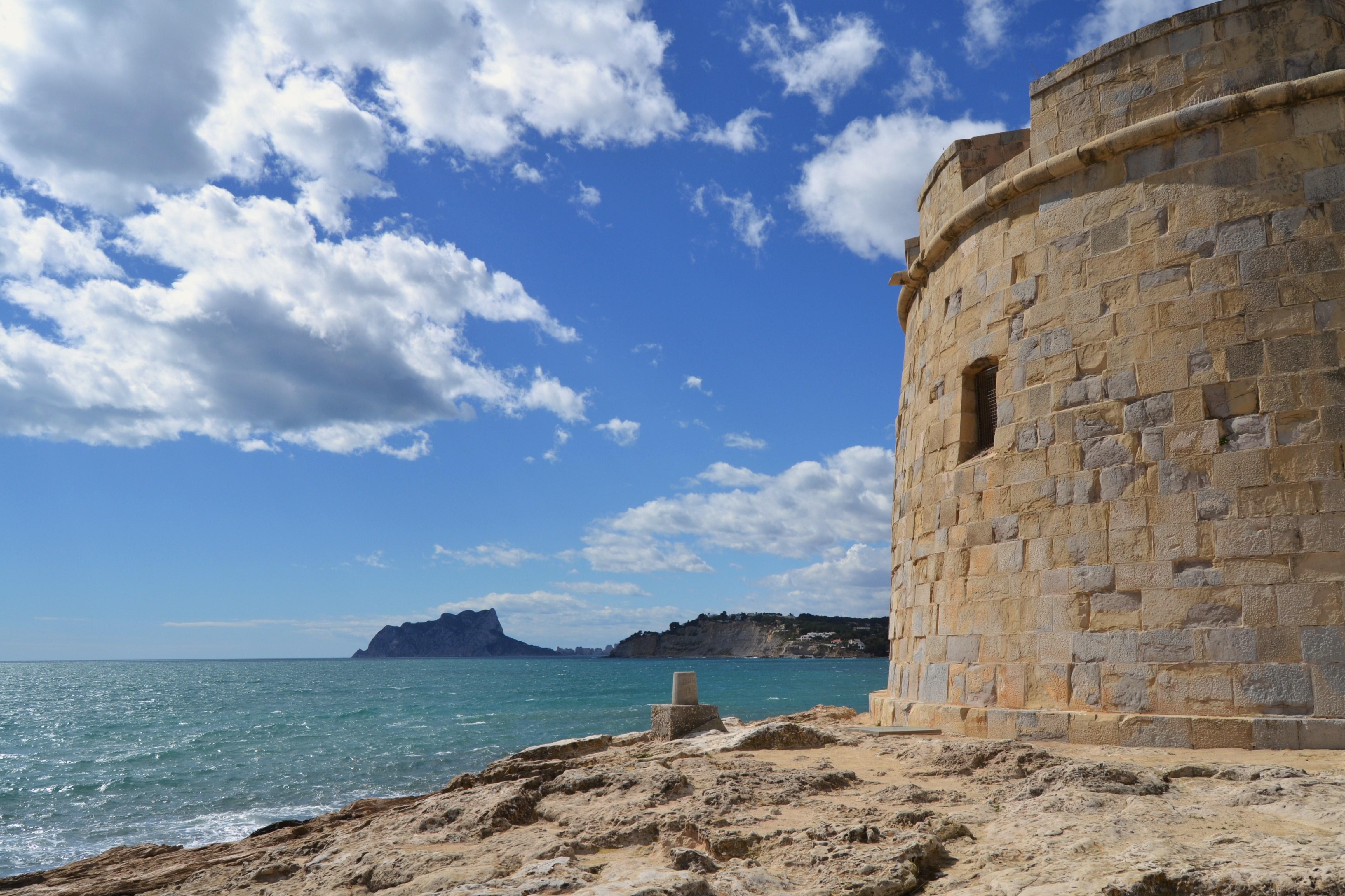 Castell de Moraira i penyal d'Ifac