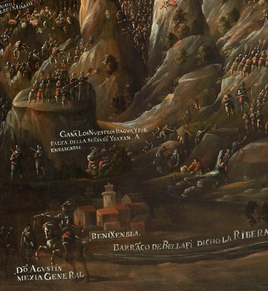 Detall General Mejía a Benigembla