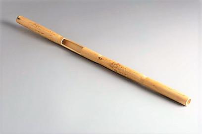 Canya badà (instrument tradicional) / Canya partida (instrumento tradicional)