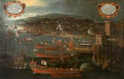 Desembarcament dels moriscos a Orà