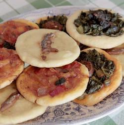 coques variades al forn