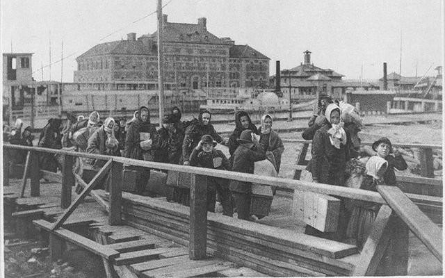 Ellis Island i arribada d'emigrants