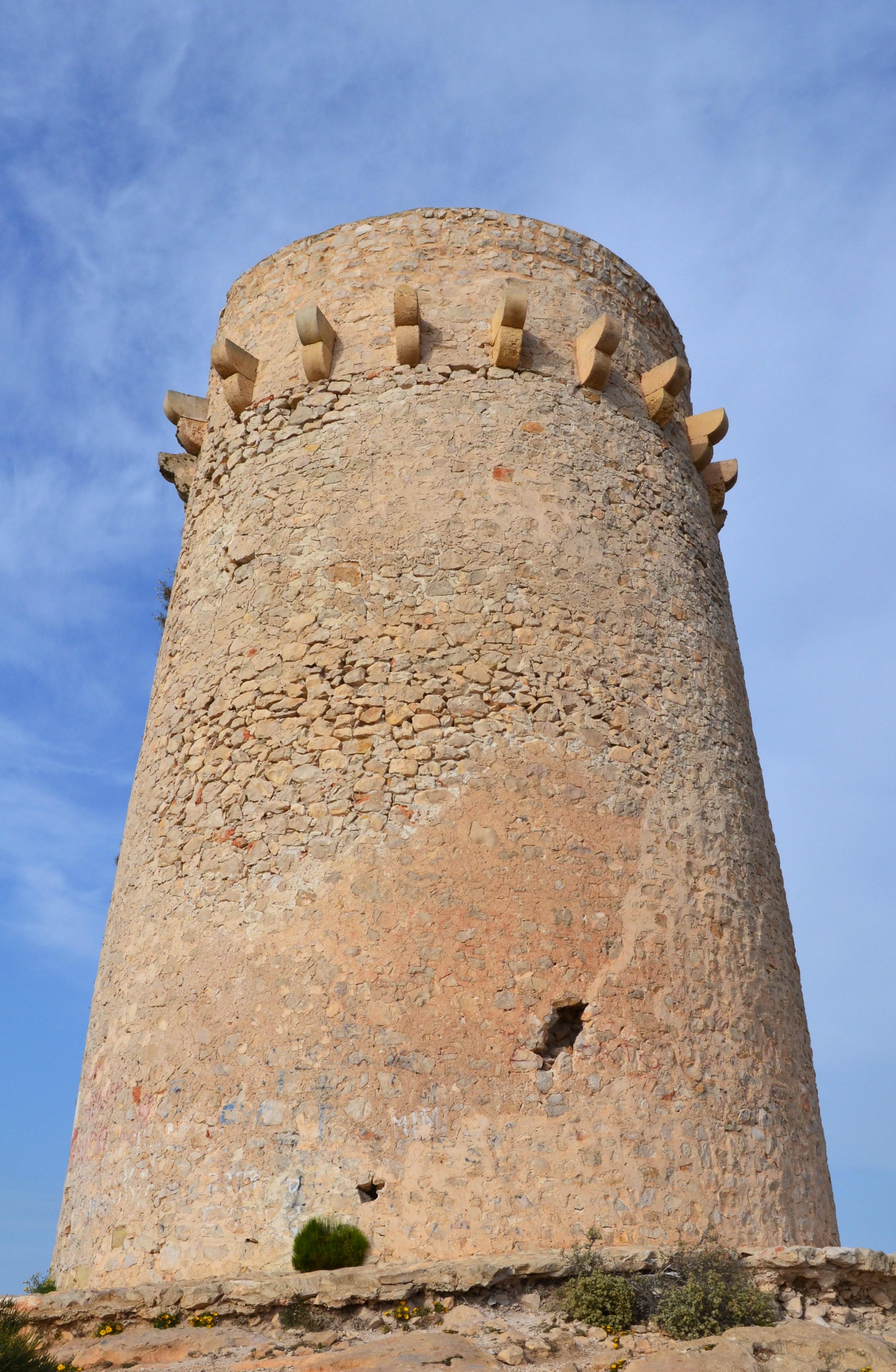 Torre del cap d'Or de Moraira