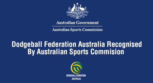 Dodgeball Australia - Official Recognition!