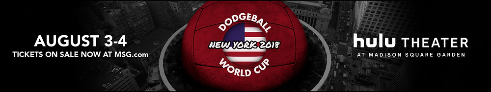 Dodgeball World Cup 2018 TicketsLink