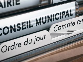 COMPTE RENDU CONSEIL MUNICIPAL 22-10-2020