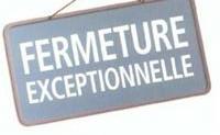 FERMETURE APC