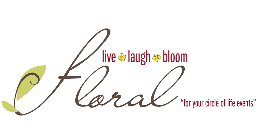 Live Laugh & Bloom Floral
