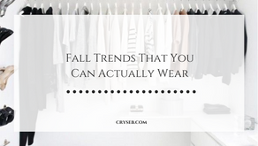 Fall Trends That You Can Actually Wear