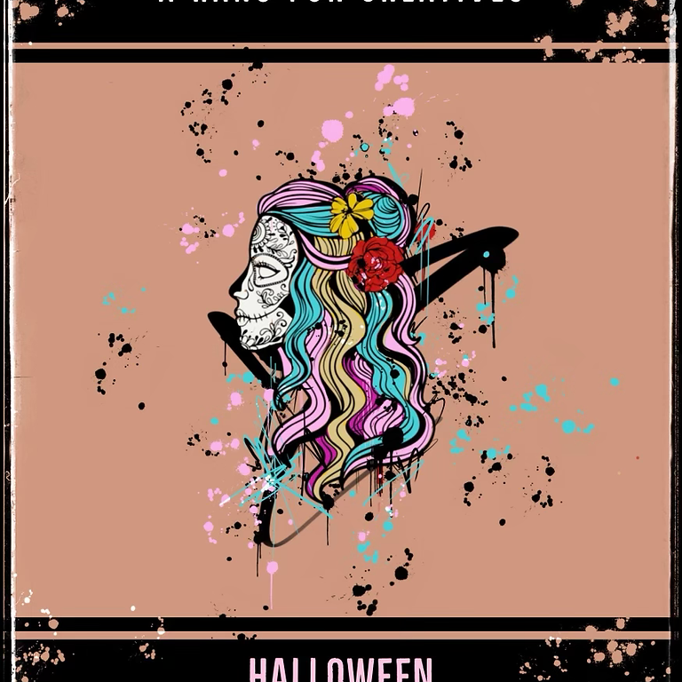 A Hang For Creatives x Graffiti Library Halloween Party 10/30