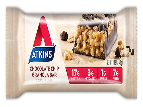 Atkins Protein-Rich Meal Bar, Chocolate Chip Granola
