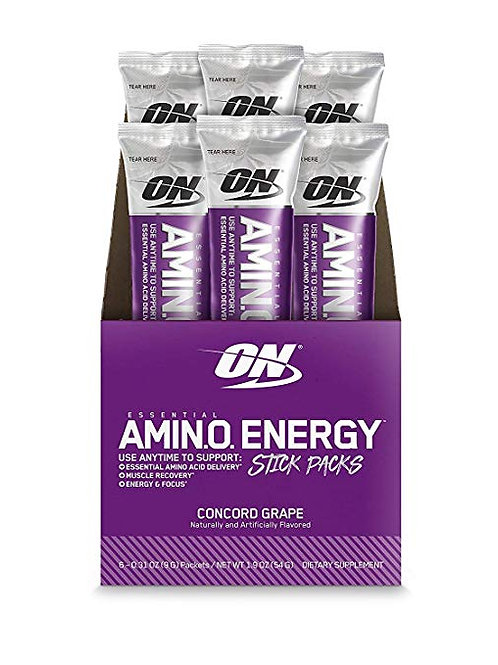 OPTIMUM NUTRITION ESSENTIAL AMINO ENERGY Individual Packs