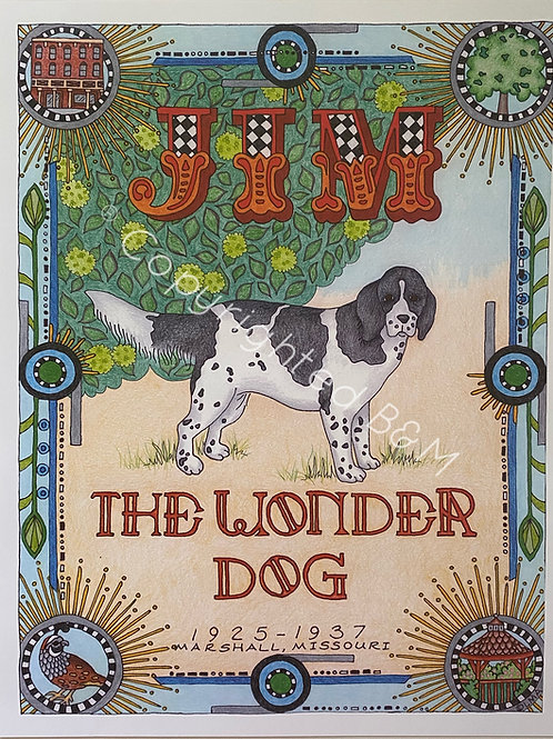 Jim the Wonder Dog Poster