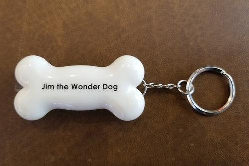 Jim the Wonder Dog Keychain