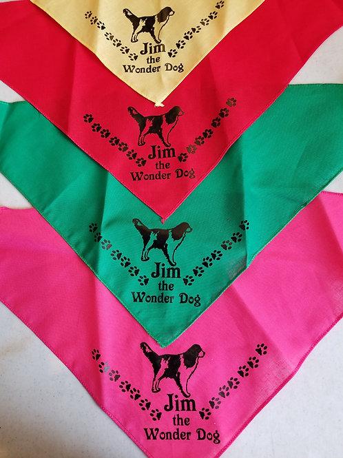 Jim the Wonder Dog Bandana