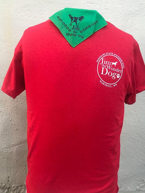 Jim the Wonder Dog Logo T-shirt