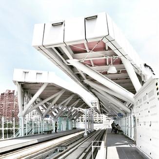 高雄電車站。台灣。 2012年