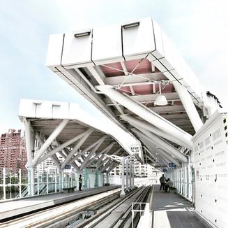 Estación del Tranvía de Kaohsiung. Taiwan. 2012