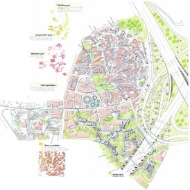 """The Five Conditions"". Loures Urban Development. Portugal. EUROPAN 2007"