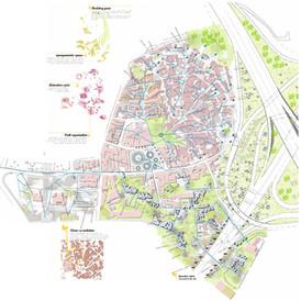 """The Five Conditions"". Loures Urban Development. Portugal. EUROPAN 2007"