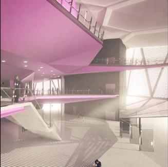 高雄流行音樂中心音樂廳。台灣。 2020年