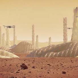 ALGI. Mars Colony of 1 Million People. 2018