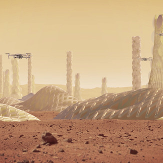 ALGI. Colonia para un millón de habitantes en Marte. 2018