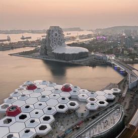 kaohsiung Pop Music Center. Taiwan. 2020