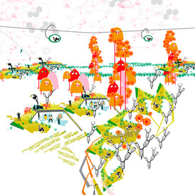 """ALFAPOLIS"" Strategies for the City of the Future in Alfas del Pi. Alicante. 2011"