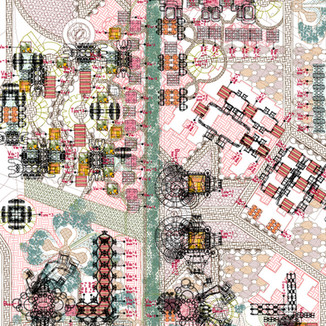 """""""Ciudad Penélope"""". Desarrollo Urbanístico de Badajoz. EUROPAN 2007"""