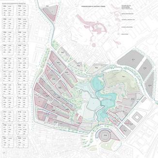 Plan Urbanístico de La Marina. Madrid. 2008
