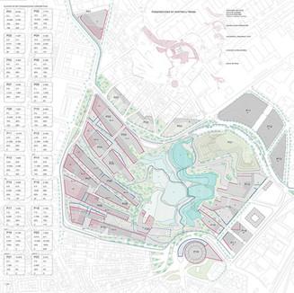 La Marina城市規劃。馬德里。 2008年